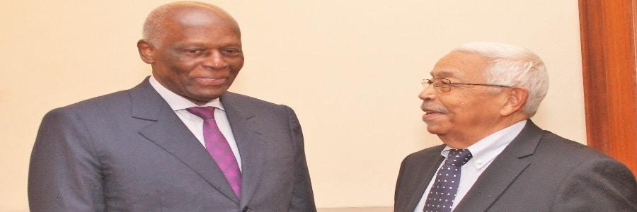 - JES E PEDRO PIRES - Ex-Presidente de Cabo Verde Visita à Fundação Eduardo dos Santos