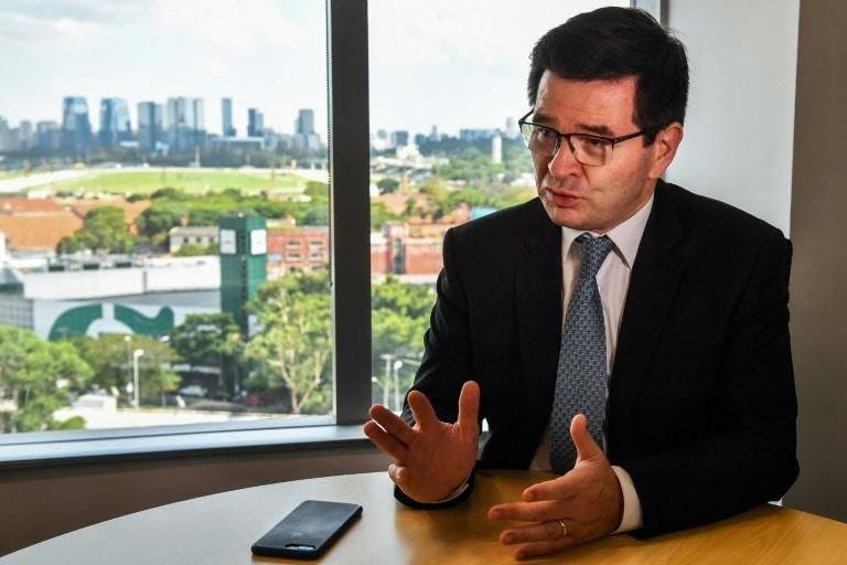 """- O presidente da Odebrecht Engenharia e Constru    o F  bio Januario - Para Odebrecht, """"o pior já passou"""" e chegada de Bolsonaro é positiva"""