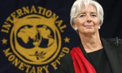 - christine lagarde fmi 400x240 - Christine Lagarde deixará liderança do FMI em setembro