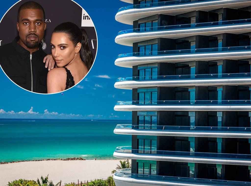 kim kardashian e kanye west compram apartamento de 12 milhões em miami - fenea house - Kim Kardashian e Kanye West compram apartamento de 12 milhões em Miami