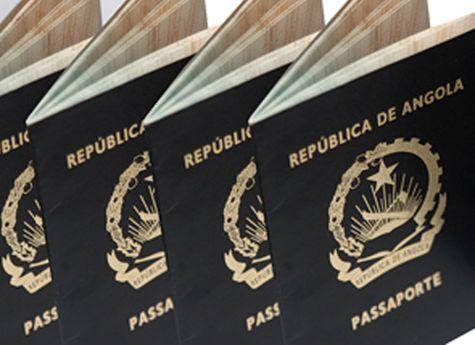 - passaporte angolano - SME normaliza emissão de passaportes na próxima semana