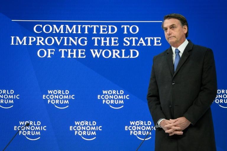 fmi elogia agenda de reformas de bolsonaro - Bolsonaro davos - FMI elogia agenda de reformas de Bolsonaro
