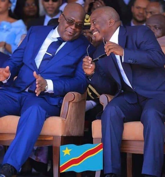 - RDC Kabila e tchisekedi 560x600 - EUA aplicam sanções a responsáveis de comissão eleitoral da RDCongo
