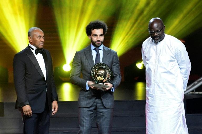 salah novamente eleito melhor futebolista de África - Salah 1 - Salah novamente eleito melhor futebolista de África
