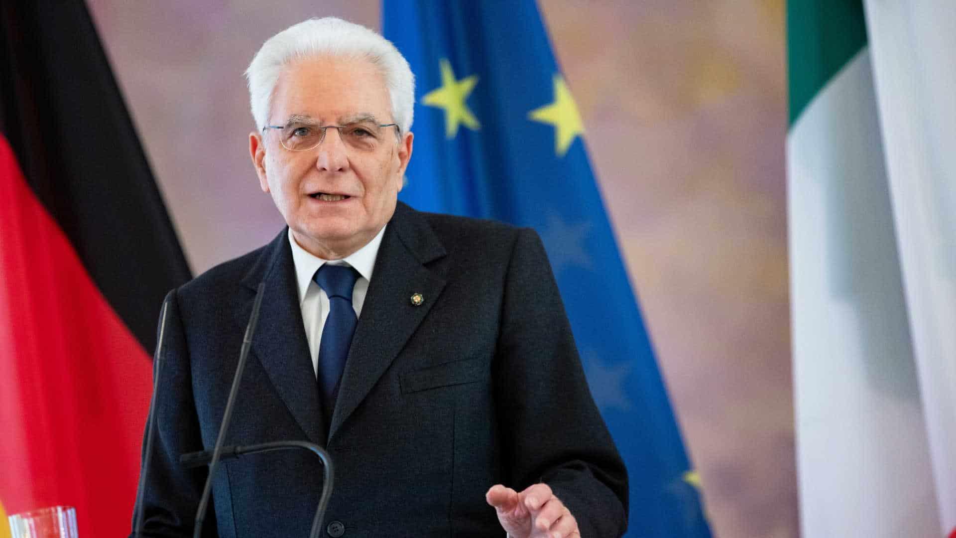 presidente italiano visita angola na próxima semana - Sergio Mattarella - Presidente Italiano visita Angola na próxima semana