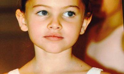 """- Thylane Blondeau3 400x240 - A """"criança mais bonita do mundo"""" cresceu e já tem namorado. Veja como ela está agora"""