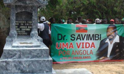 - Tumulo Savimbi 400x240 - UNITA diz que mau estado das vias de acesso à aldeia de Lopitanga pode condicionar as exéquias de Savimbi