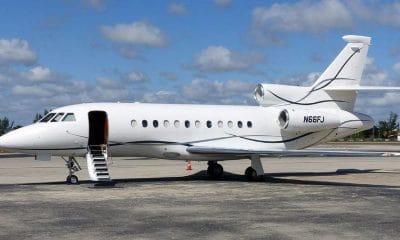 - Falcon 900EX 400x240 - Contrato de frete da Falcon que Transportou Felix Tshisekedi a Luanda assinado em seu nome e não o da presidência congolesa