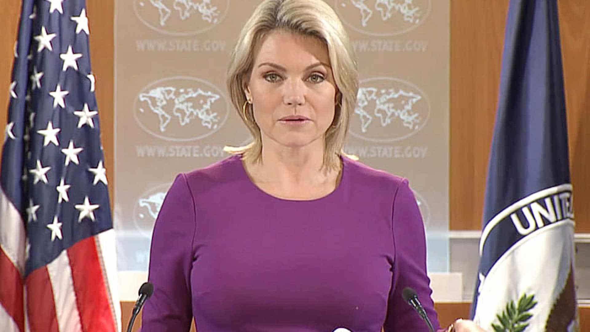 ex-jornalista da fox renuncia a candidatura a embaixadora dos eua na onu - HEATHER NAUERT - Ex-jornalista da Fox renuncia a candidatura a embaixadora dos EUA na ONU