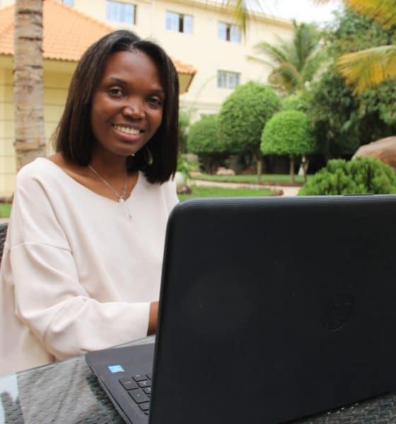 - IMG 0033 560x600 - Jornalista Angolana convidada para ser colunista de umJornal científico Internacional