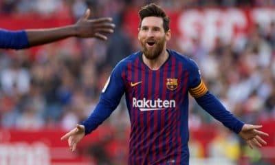 - MESSI 400x240 - Messi dá show e Barça elimina United na Champions