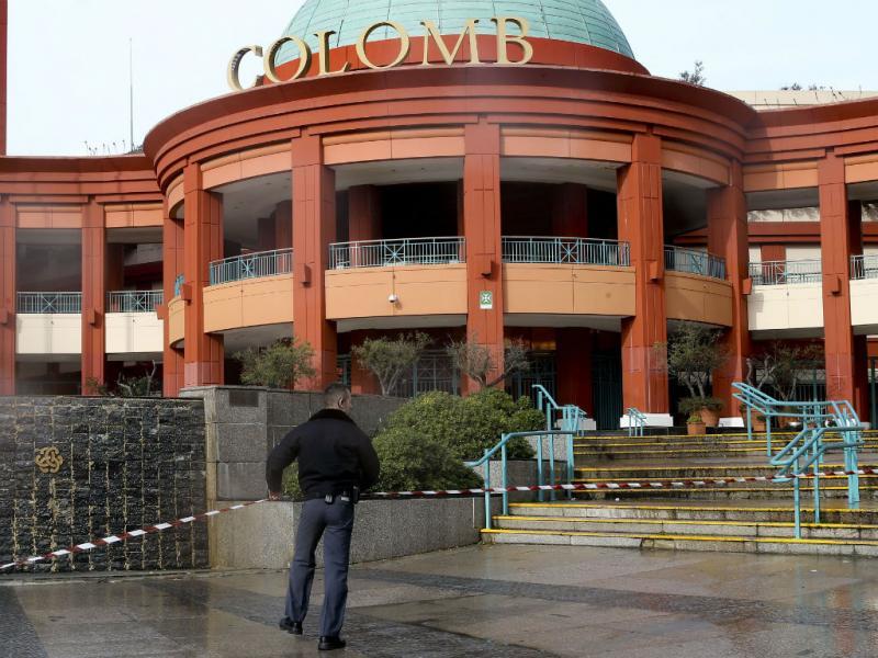 incêndio no centro comercial colombo, em lisboa - colombo - Incêndio no centro comercial Colombo, em Lisboa