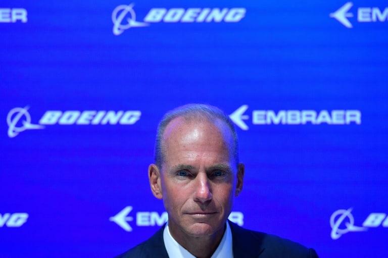 ceo da boeing diz que segurança é fundamental - CEO da Boeing Dennis Muilenburg - CEO da Boeing diz que segurança é fundamental