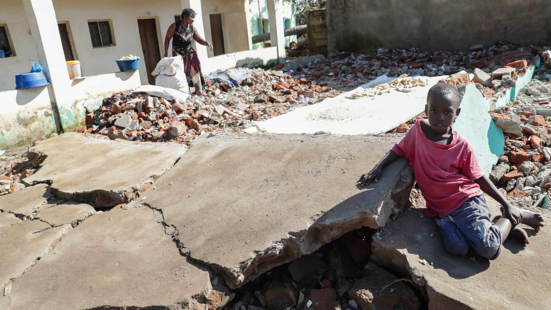 número de mortos contabilizados por moçambique sobe para 468 - CICLONE IDAI - Número de mortos contabilizados por Moçambique sobe para 468