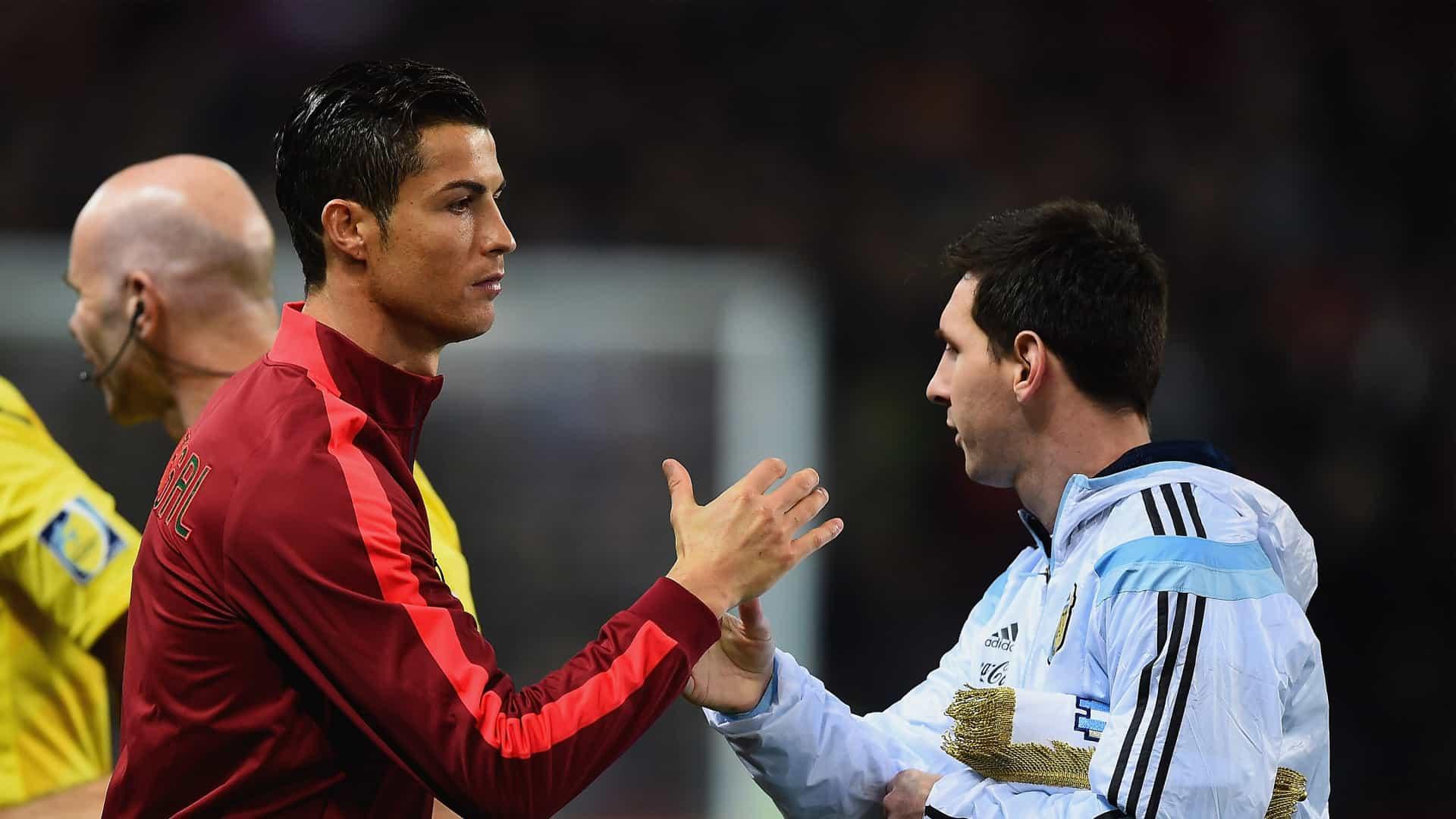 messi diz ter saudades de medir forças com cristiano ronaldo - CR7 e Messi - Messi diz ter saudades de medir forças com Cristiano Ronaldo