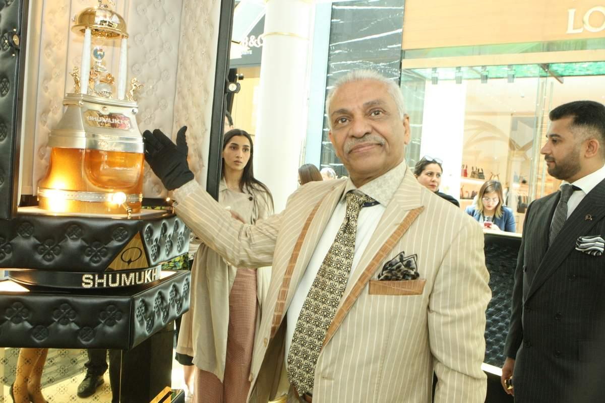 lançado o perfume mais caro do mundo no dubai - SHUMUKH - Lançado o perfume mais caro do mundo no Dubai