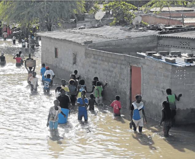 - chuvas Benguela - Chuvas matam 16 pessoas em Benguela