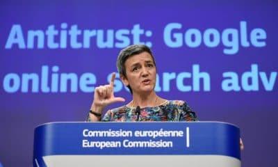 - comiss  ria europeia de Concorr  ncia Margrethe Vestager 400x240 - Bruxelas multa Google por abuso de posição dominante