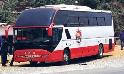 autocarros interprovinciais da ango-real circulam sem cintos de segurança - Autocarro AngoReal 400x240 - Autocarros interprovinciais da Ango-Real circulam sem cintos de segurança