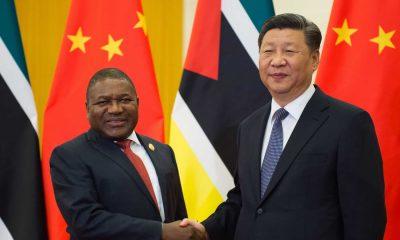 [object object] - FILIPE NYUSI e XI 400x240 - Presidente moçambicano inicia hoje visita oficial à China