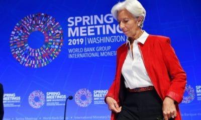 fmi e banco mundial alertam para empréstimos da china - FMI Christine Lagarde 400x240 - FMI e Banco Mundial alertam para empréstimos da China
