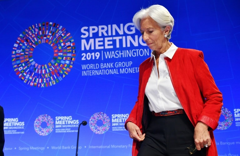 fmi e banco mundial alertam para empréstimos da china - FMI Christine Lagarde - FMI e Banco Mundial alertam para empréstimos da China