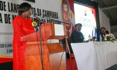 """- Luisa Dami  o MPLA 400x240 - Vice-presidente do MPLA diz que são necessários """"verdadeiros patriotas"""" para apoiar o processo de combate à corrupção"""