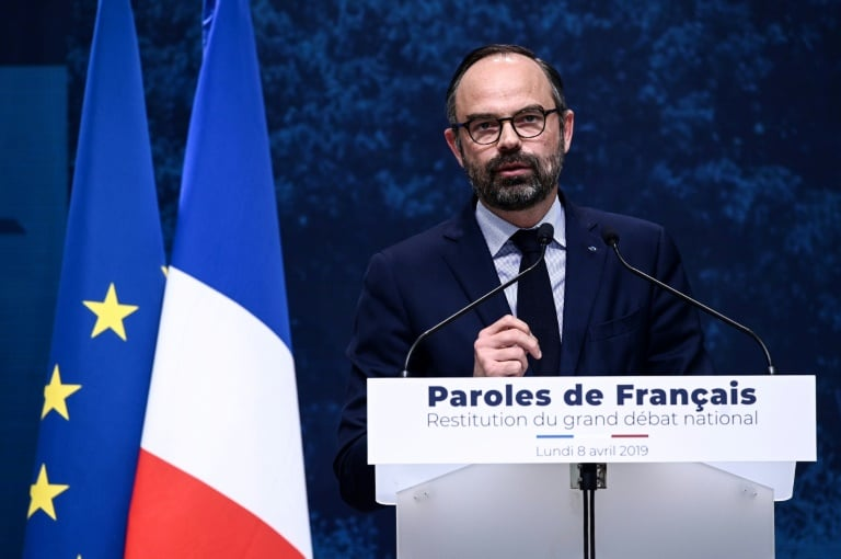 governo francês estuda cortar impostos para acabar com crise dos 'coletes amarelos' - Primeiro ministro FRANCES Edouard Philippe - Governo francês estuda cortar impostos para acabar com crise dos 'coletes amarelos'