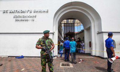 declarado estado de emergência no sri lanka - Sri Lanka Atentado 400x240 - Declarado estado de emergência no Sri Lanka