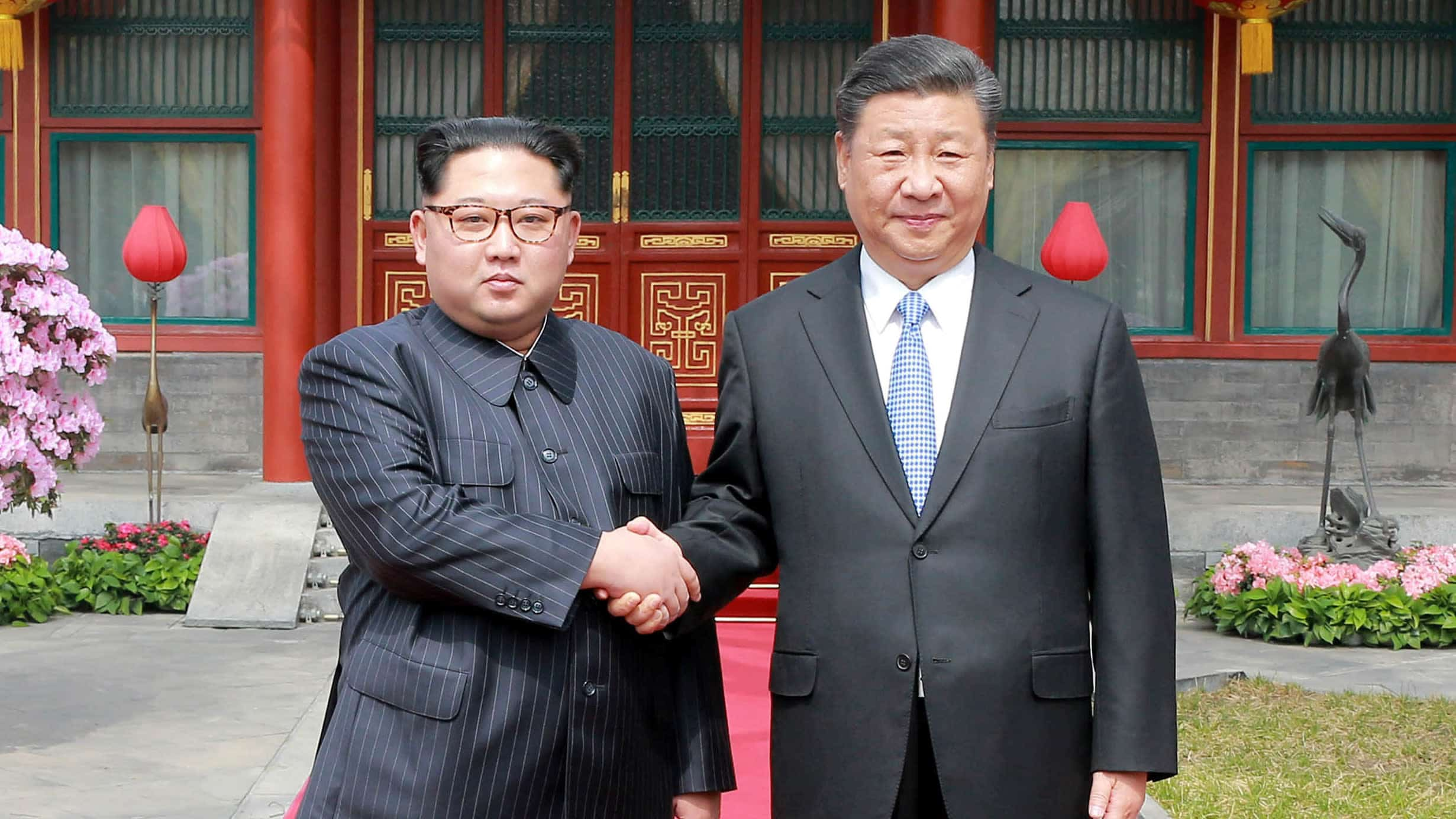 presidente chinês felicita líder norte-coreano pela reeleição - Xi Jinping felicitou e Kim Jong un - Presidente chinês felicita líder norte-coreano pela reeleição