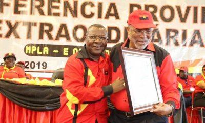- Capapinha e Eusebio 400x240 - Job Capapinha eleito primeiro-secretário do MPLA no Cuanza-Sul
