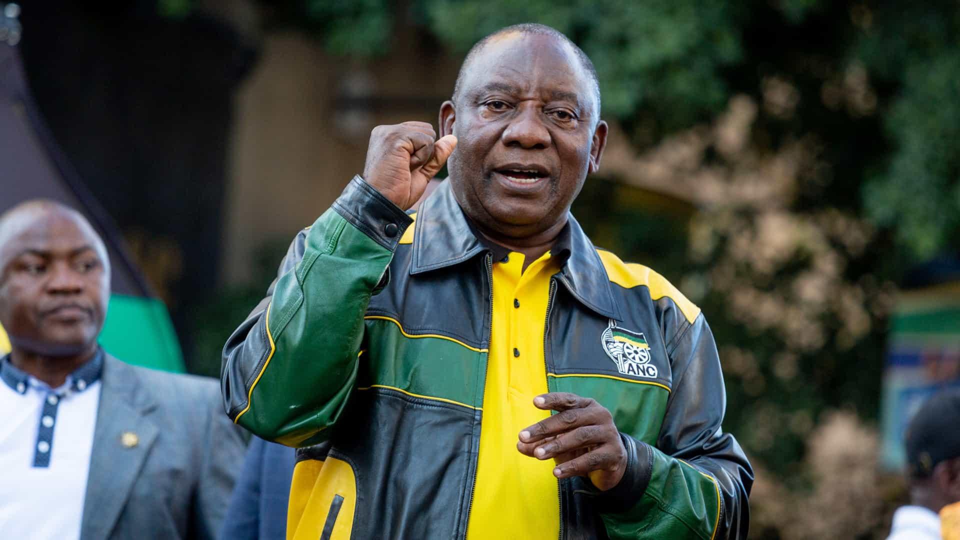 [object object] - Cyril Ramaphosa - Presidente sul-africano promete mais emprego e combate à corrupção
