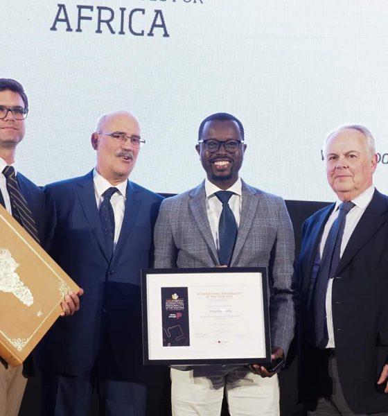 """- FB IMG 1557934290985 560x600 - Jurado angolano do Concurso Vinhos de Portugal distinguido como """"Personalidade do Ano"""" para África"""