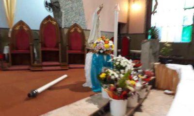 marginais assaltam paróquia de fátima - Igreja nossa senhora f  tima luanda 400x240 - Marginais assaltam Paróquia de Fátima