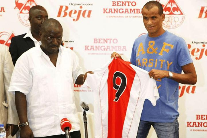 kabuscorp envia à fifa comprovativo de pagamento à rivaldo - RIVALDO E BK - Kabuscorp envia à FIFA comprovativo de pagamento à Rivaldo