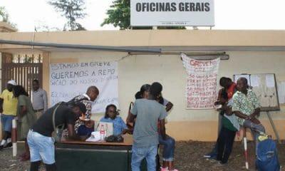 - greve CFL 400x240 - Funcionários dos CFL condenados por desobediência às autoridades
