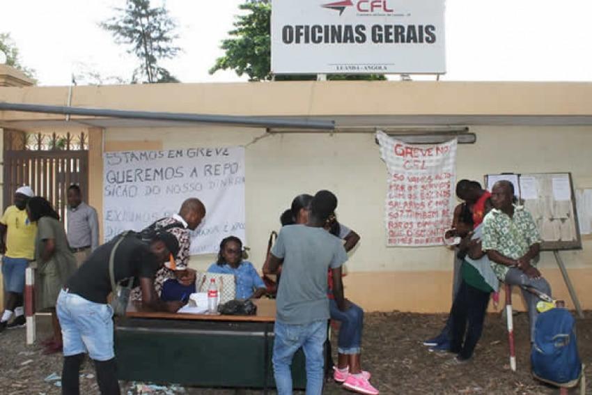 - greve CFL - Funcionários dos CFL condenados por desobediência às autoridades