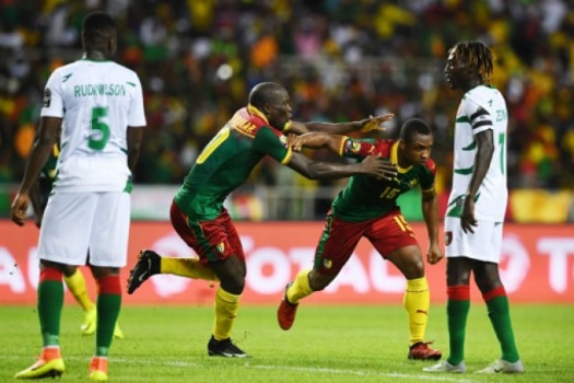 - Camar  es Guine - CAN2019: Camarões vence Guiné (2-0)
