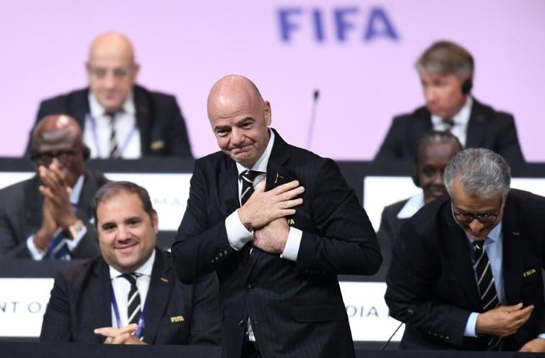 infantino é reeleito presidente da fifa por aclamação - Infantino  FIFA - Infantino é reeleito presidente da Fifa por aclamação