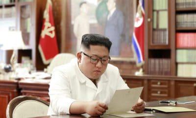 """- Kim 400x240 - Kim diz ter recebido carta de Trump com um """"conteúdo excelente"""""""