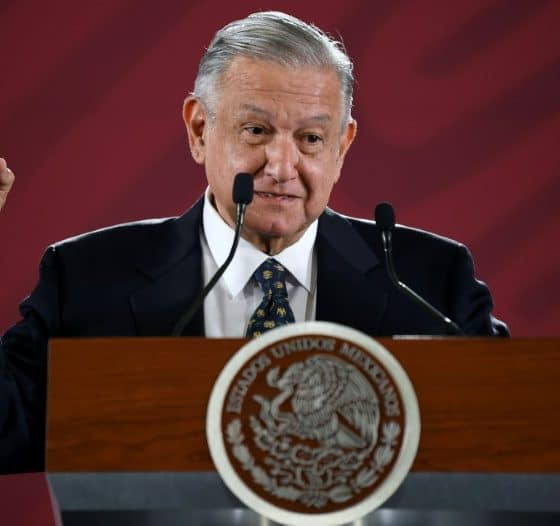 - Andr  s Manuel L  pez Obrador 560x526 - Presidente do México lamenta destino de El Chapo