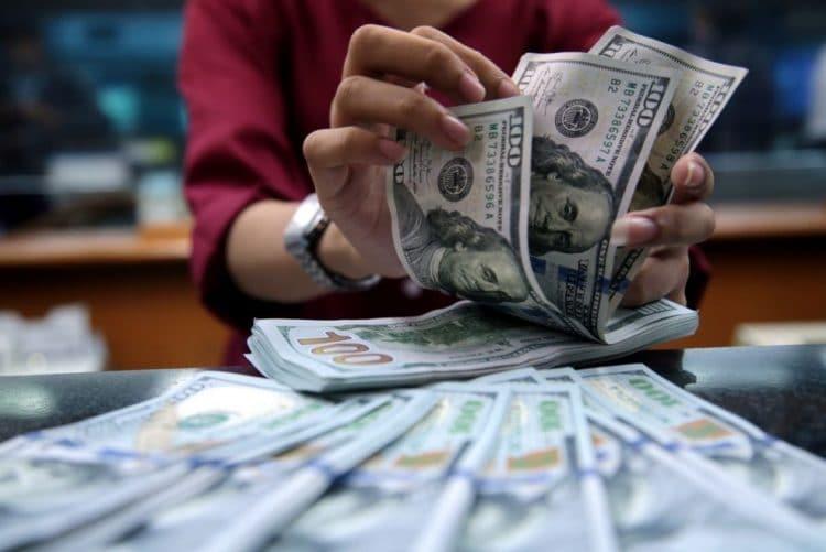 - D  lares - Federal Reserve de Nova York injecta 75 mil milhões de dólares no mercado