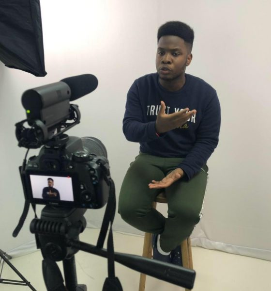 - Isarael campos 560x600 - Israel Campos representa Angola na conferência de jovens jornalistas em Londres