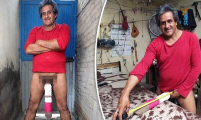 homem com maior pénis do mundo foi considerado inapto para trabalhar - Roberto Esquivel Cabrera 400x240 - Homem com maior pénis do mundo foi considerado inapto para trabalhar