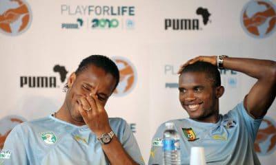 - Samuel Etoo e Drogba 400x240 - Samuel Eto'o e Drogba são os novos colaboradores oficiais do presidente da CAF
