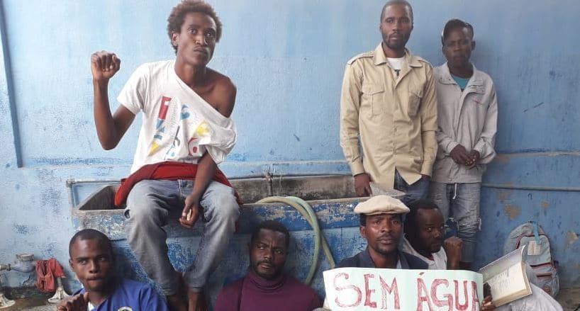 policia em benguela prende activistas por reivindicarem falta de àgua - activistas Benguela - Policia em Benguela prende activistas por reivindicarem falta de àgua