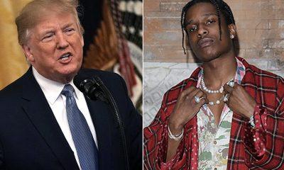 trump vai ligar ao primeiro-ministro sueco para libertar o rapper a$ap rocky - donald trump asap rocky 400x240 - Trump vai ligar ao primeiro-ministro sueco para libertar o Rapper A$AP Rocky