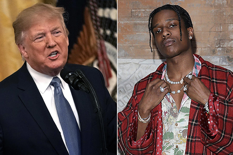 trump vai ligar ao primeiro-ministro sueco para libertar o rapper a$ap rocky - donald trump asap rocky - Trump vai ligar ao primeiro-ministro sueco para libertar o Rapper A$AP Rocky