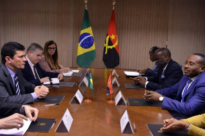 [object object] - Moro recebe delegac a o angolana por combate a corrupc a o - Sergio Moro recebe delegação angolana por combate à corrupção