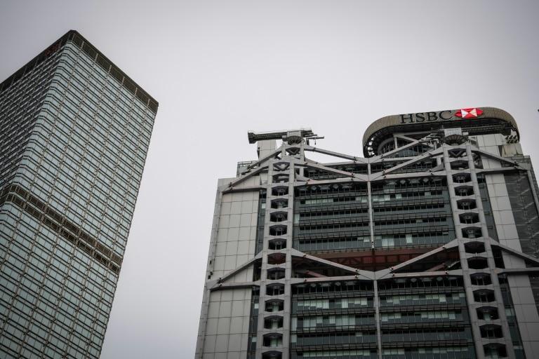 hsbc anuncia corte de 4.000 postos de trabalho - Pre dio do HSBC em Hong Kong - HSBC anuncia corte de 4.000 postos de trabalho